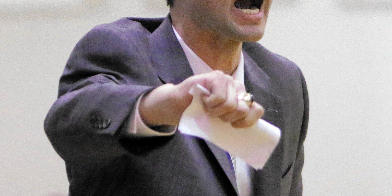 Former United Township Panther boys basketball coach, Ryan Webber